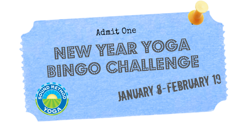 New Year Yoga Bingo Challenge