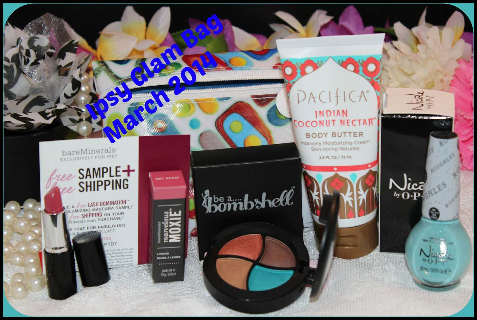 Ipsy March 2014 Glam Bag Reveal!  Beth, Beauty and More