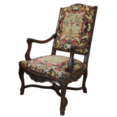 antique Needle Point Chair