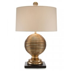 Golden Rings Table Lamp
