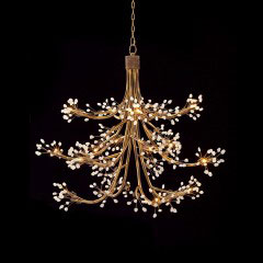 Sixteen Light Halogen chandelier