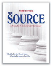 The Source A Guidebook for American Genealogy Research