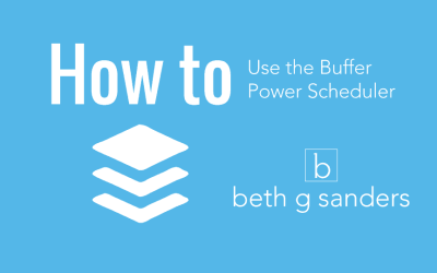 Twitter Tip: Buffer Power Scheduler