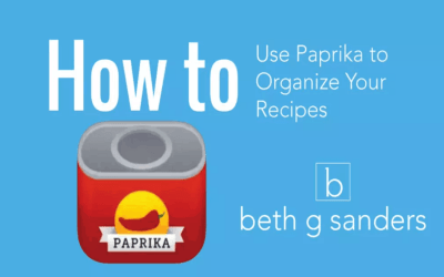 Organize Recipes with Paprika