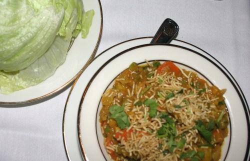 India's Pearl veggie lettuce wraps Dec 2009