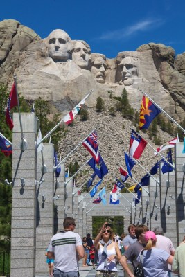 Beth Partin's photos, Mount Rushmore walkway