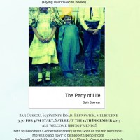 Melbourne... 'The Party of Life' launch in December