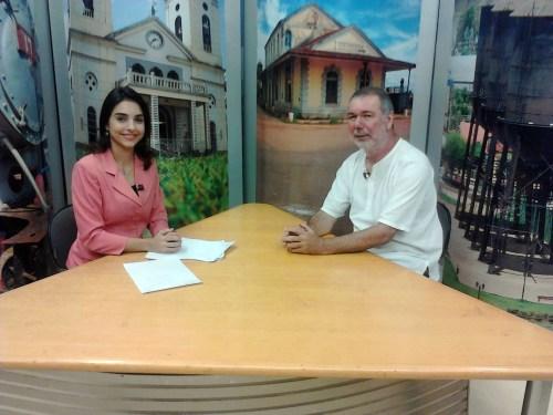 """Notícia foi dada """"ao vivo"""" na TV Rondônia"""