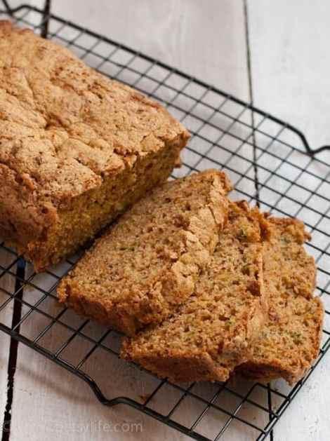 Guajillo Spiced Zucchini Bread | Betsylife.com