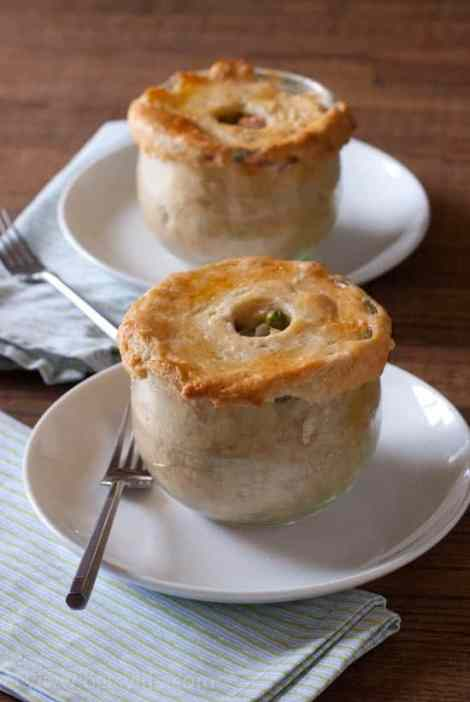 Chicken Pot Pie In A Jar #12bloggers
