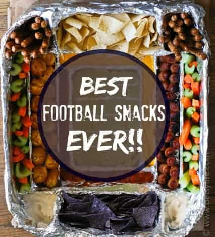 The Greatest Football Snack Recipes Ever | Betsylife.com