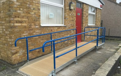 Office Ramp – NHS Oxfordshire