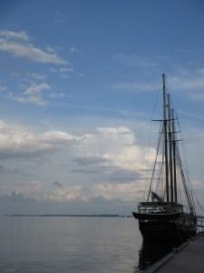 Sailboat in Yorktown