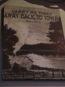 Back to Iowa