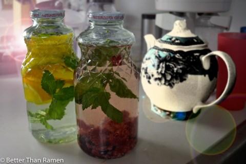 Fruit Infused Water Recipe via BetterThanRamen.net