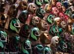 distrito university city tasting menu review luchadore masks