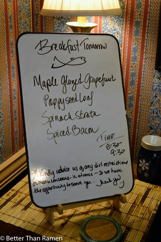 anglers inn harpers ferry breakfast review menu