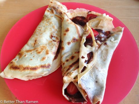 Palacinke - Serbian Pancake Recipe via BetterThanRamen.net