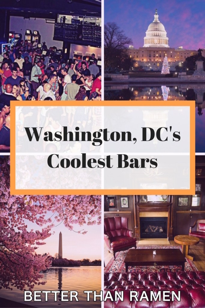 washington dcs coolest bars