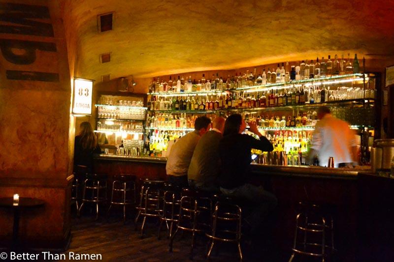 pravda new york dinner review bar