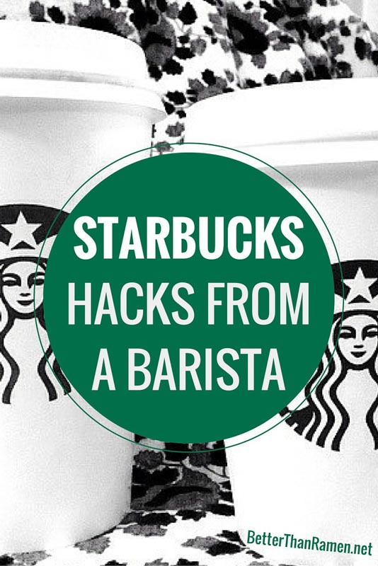 starbucks hacks from barista