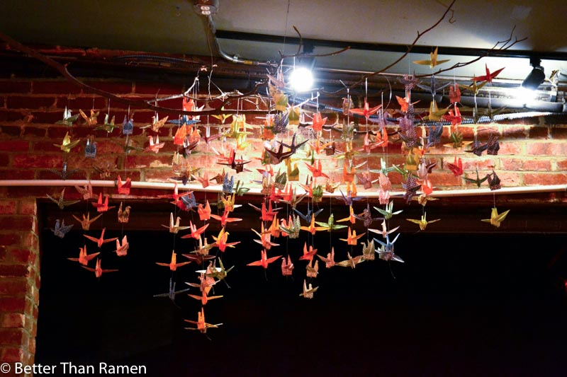 sticky rice dc review origami cranes