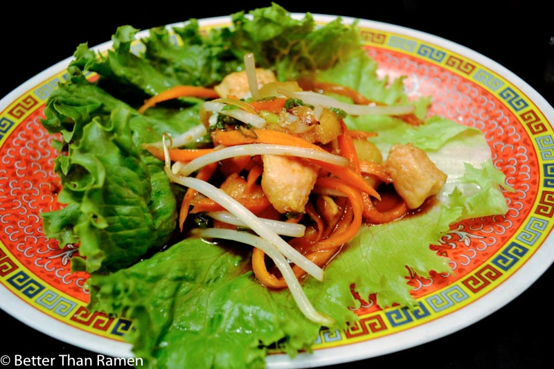 sticky rice dc review lettuce wraps