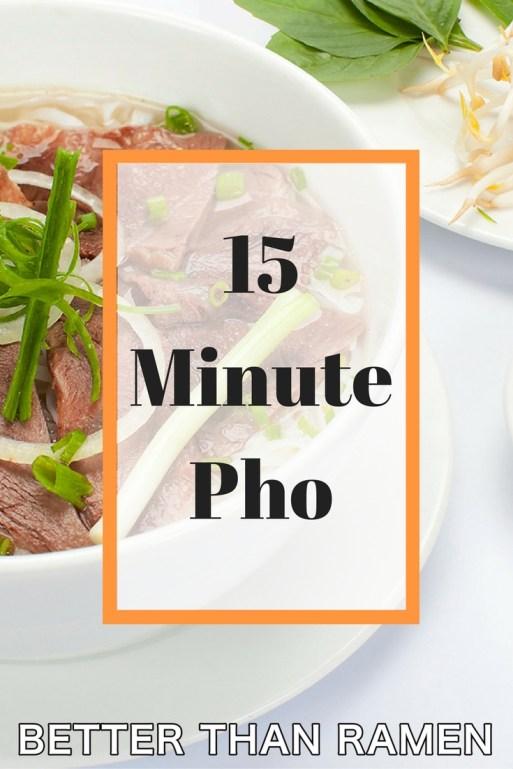 15 minute pho recipe