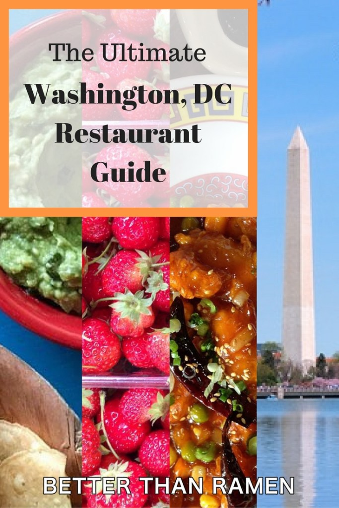 ultimate washington dc restaurant guide
