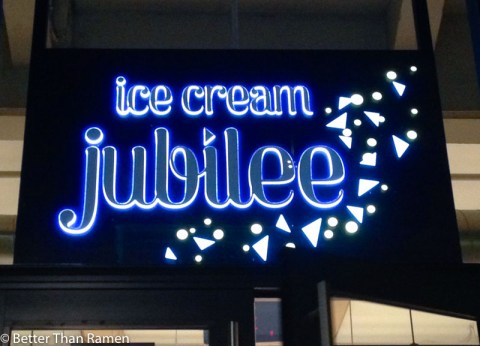 ice cream jubilee review sign navy yard