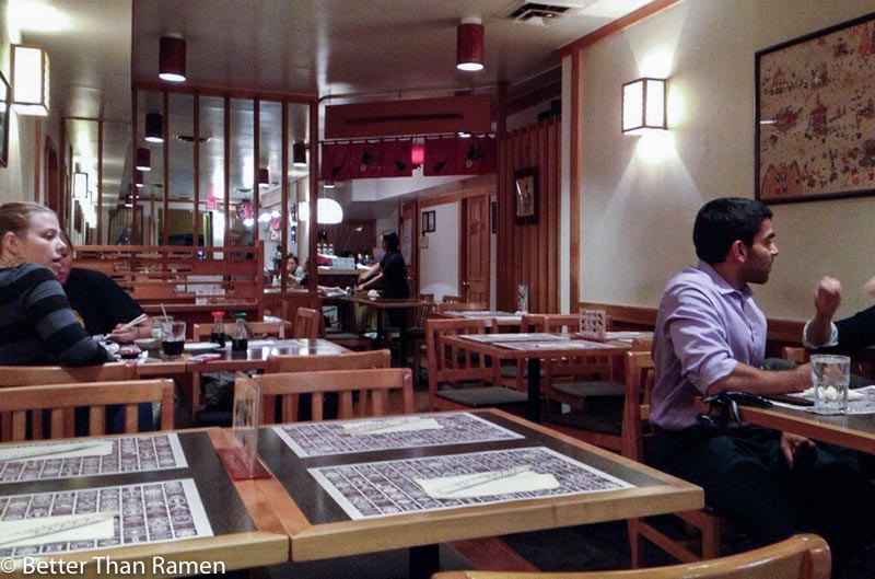 sakana dc review restaurant interior sushi dupont circle