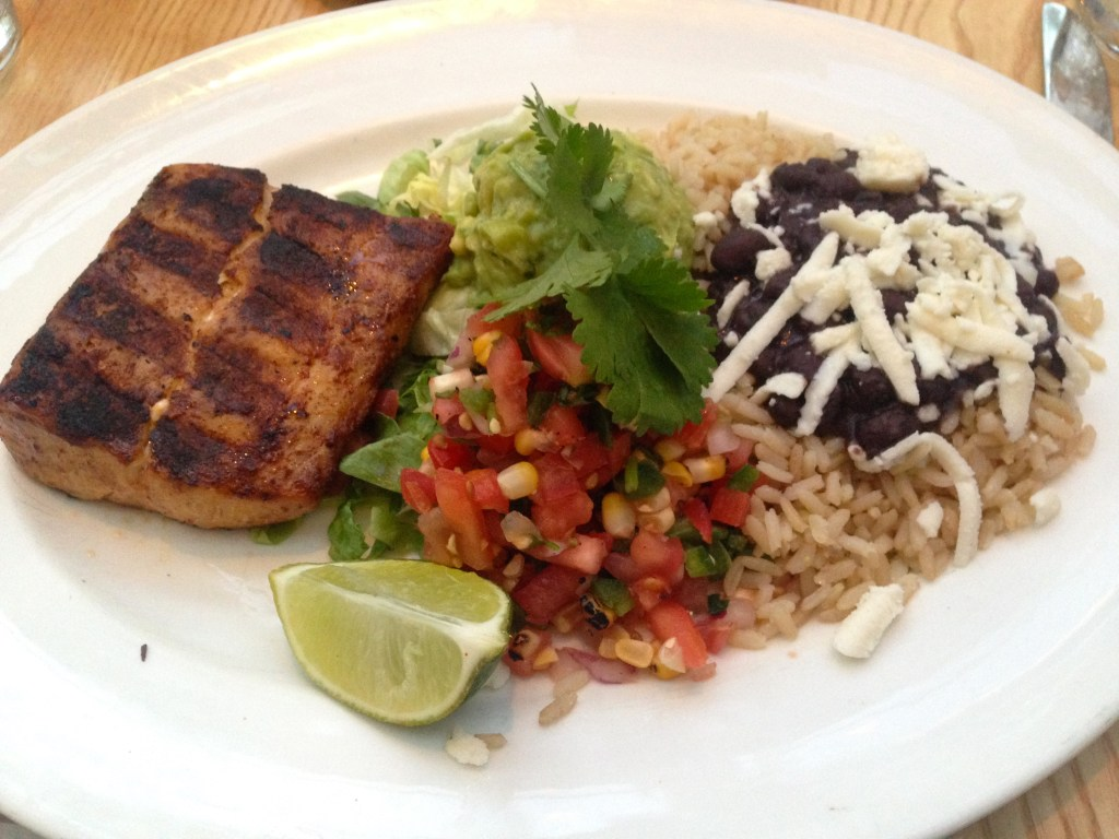Wood-Grilled Mahi Mahi Tacos summer house chicago review