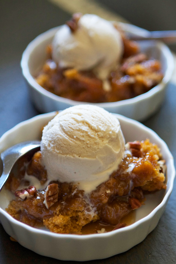 pumpkin pecan cobbler alternative thanksgiving recipes