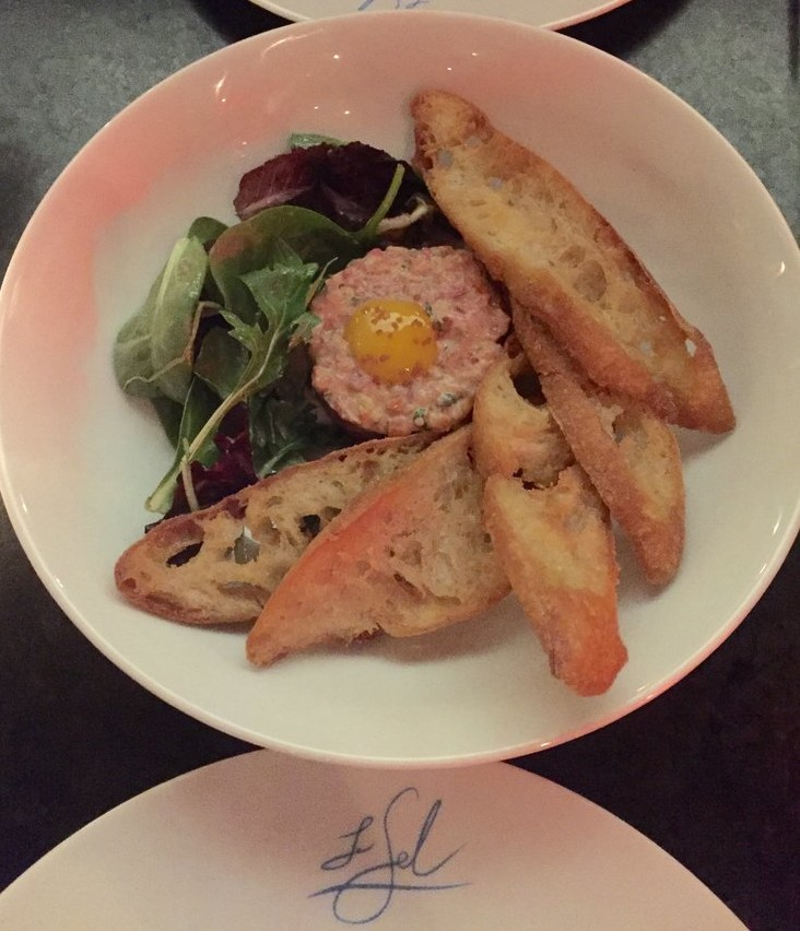 le sel nashville review lamb tartare