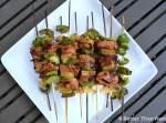 Ketchung Kabobs Recipe via BetterThanRamen.net kebab skewers summer bbq chicken pineapple pepper kabobs grill