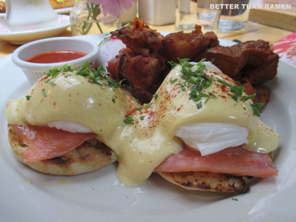 salmon hayek benedict ck14 brunch nyc