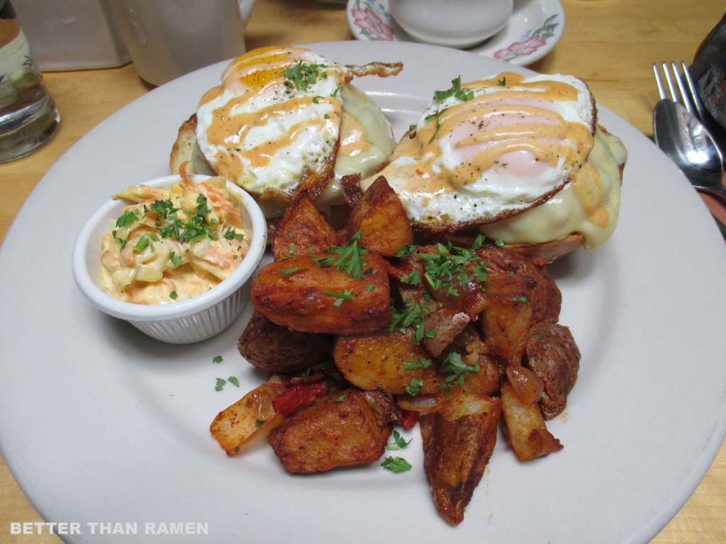 sausage and egg burger ck14 brunch nyc review