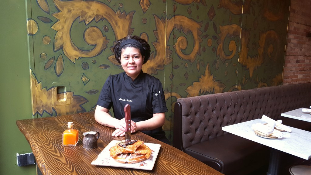chef mariela bolanos mad social chicken and churro waffles interview gina stefani mad social