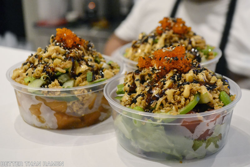 revival food hall best eats aloha poke co salmon crunch bowl revival food hall highlights best food revival food hall