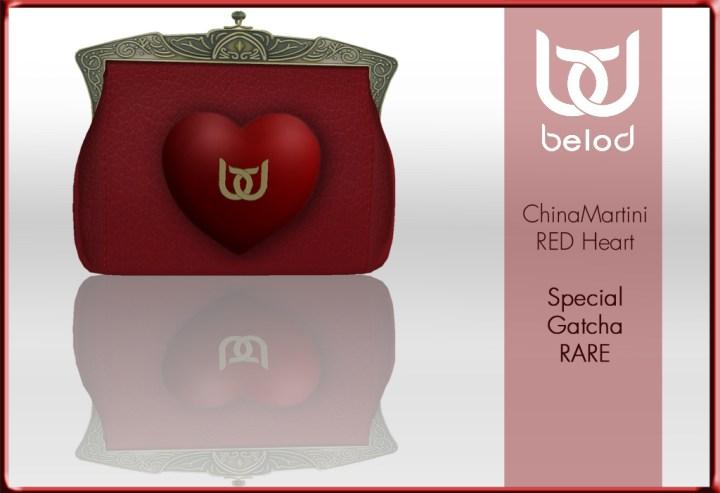 BeloD - Gatcha RED Heart J&A RARE