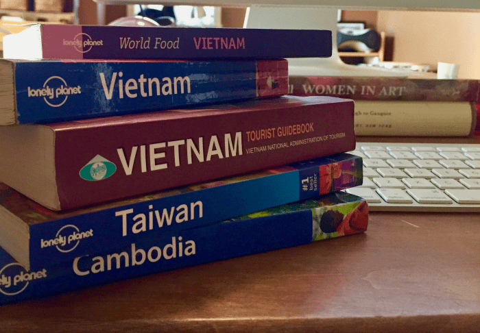 Asia travel books
