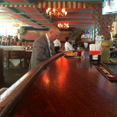 Visited the Pershing Square Cafe for an afternoon beer. Place is directly across from Grand Central Terminal.