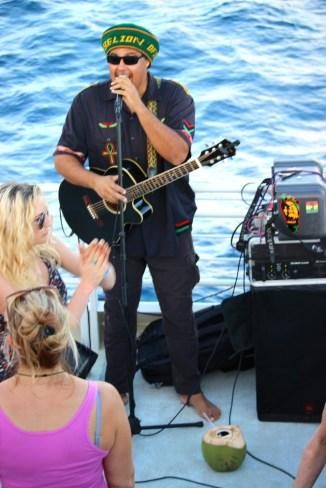 Reggae with Marty Dread on the Island Rhythms cruise.