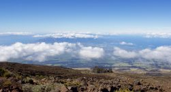 View of Maui from Haleakala