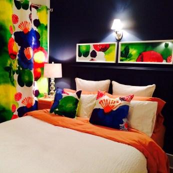 Bedroom update. Crazy colours