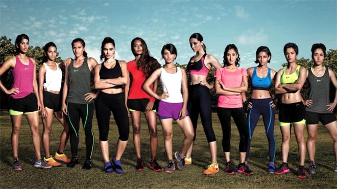 NIKE印度女性運動廣告-1