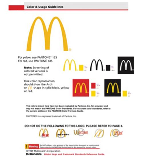 品牌行銷 品牌調性 麥當勞 平面文宣