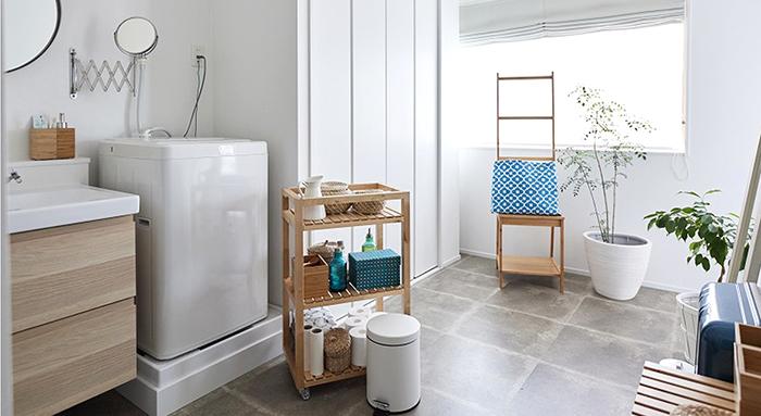 日式工業風溫馨浴室
