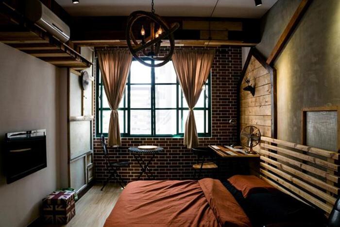英倫風旅宿, 房間