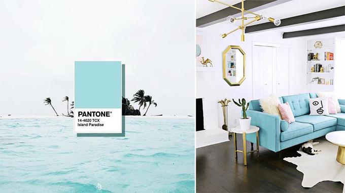 Pantone Island Paradise 2017